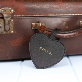 'Jet Set Go' Luggage Tag