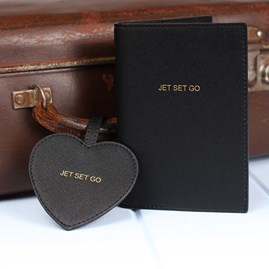 'Jet Set Go' Passport Holder