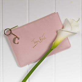 Personalised 'Team Bride' Perfect Pouch