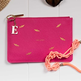 Personalised 'Free Spirit' Pink Perfect Pouch