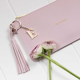 Personalised 'Pretty Perfect' Keepsake Clutch In Pink