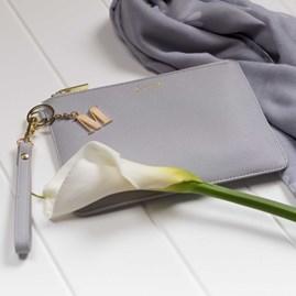 Personalised 'Le Weekend' Secret Saying Clutch Bag