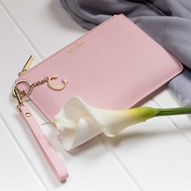 Personalised 'Hello Lovely' Secret Saying Clutch Bag