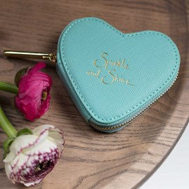'Sparkle And Shine' Mint Green Coin Purse