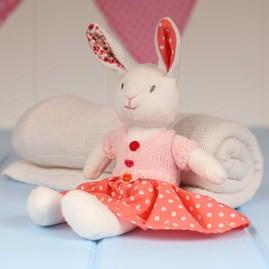 Cuddly Newborn Soft Toy Rabbit