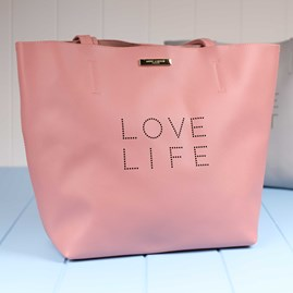 Weekend Luxe 'Love Life' Tote Bag