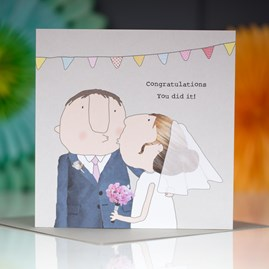 'Congratulations... You Did It!' Greetings Card