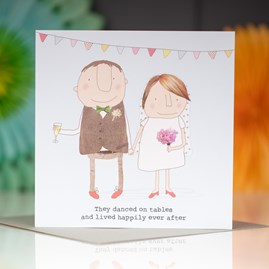 'Danced On Tables...' Greetings Card