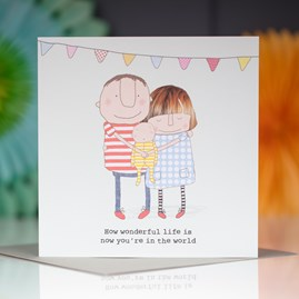 'How Wonderful Life is...' Greetings Card