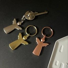 Angel Metal Key Ring