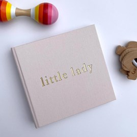 Bambino Linen 'Little Lady' Photo Album