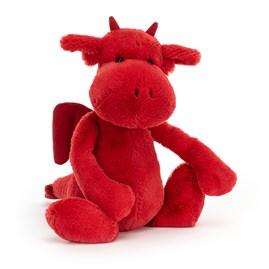 Jellycat Bashful Red Dragon Medium Soft Toy