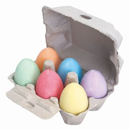 Box of Chalk Eggs