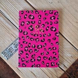 'Boss Lady' Leopard Print Notebook