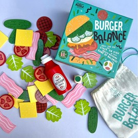 Burger Balance Game