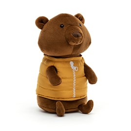 Jellycat Campfire Critter Bear Soft Toy