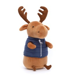 Jellycat Campfire Critter Moose Soft Toy
