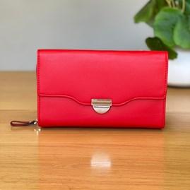 Clutch Bag in Red