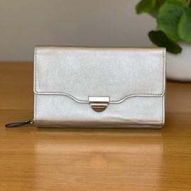 Clutch Bag in Silver