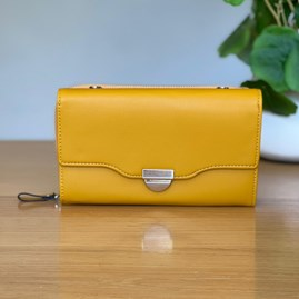 Clutch Bag in Yellow