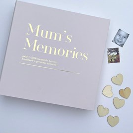 Coffee Table 'Mum's Memories' Memory Album