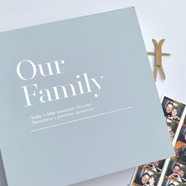 Coffee Table 'Our Family' Memory Album