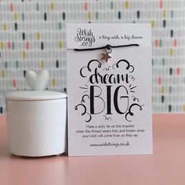 'Dream Big…' Star Wish Bracelet