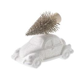 Gold Tree on White Car Decoration