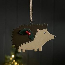 Hedgehog Hanging Decoration