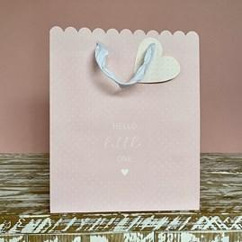 'Hello Little One' Pink Medium Gift Bag