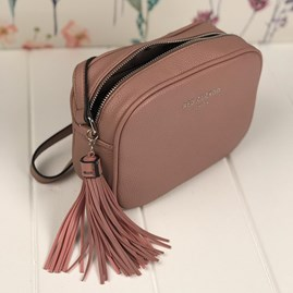 Cross Body Bag In Dusky Purple