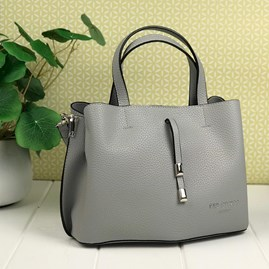Tote Bag In Silver