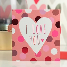 Caroline Gardner 'I Love You' Card