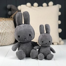 Grey Corduroy Miffy