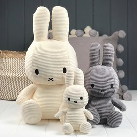White Corduroy Miffy