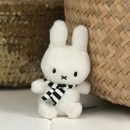 Winter Miffy Keyring