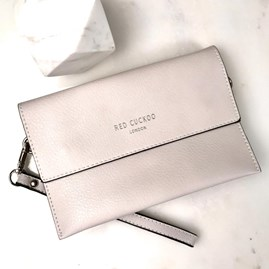 Clutch Bag In Cream