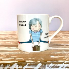 'Born To Be Wild' Bone China Mug
