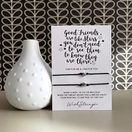 'Good Friends…' Duo Star Wish Bracelet