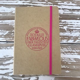 'Fabulous Glamapuss' Notebook