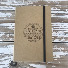 'Dexterous Note-Taker' Notebook