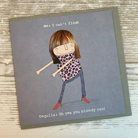 'I Can't Floss...' Greetings Card