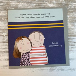 'Their Relationship Survived IKEA...' Anniversary Card