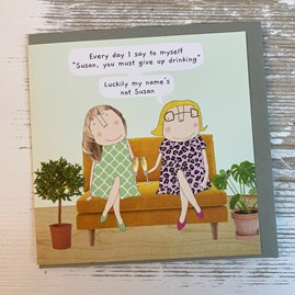 'Every day I Say To Myself...' Greetings Card