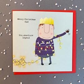 'Merry Christmas Dad...' Christmas Card