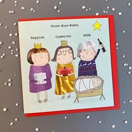 'Three Wise Women...' Christmas Card