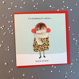 'I'm Dreaming of a White...' Christmas Card