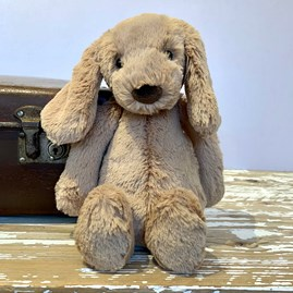 Jellycat Bashful Toffee Puppy Medium Soft Toy