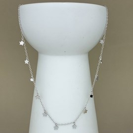Little Stars Necklace In Sterling Silver Or 18ct Gold