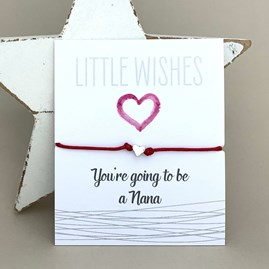'You're Going To Be A Nana' Wish Bracelet